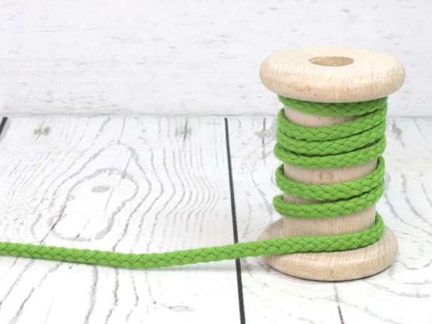 Kordel Baumwolle - 5 mm - grün