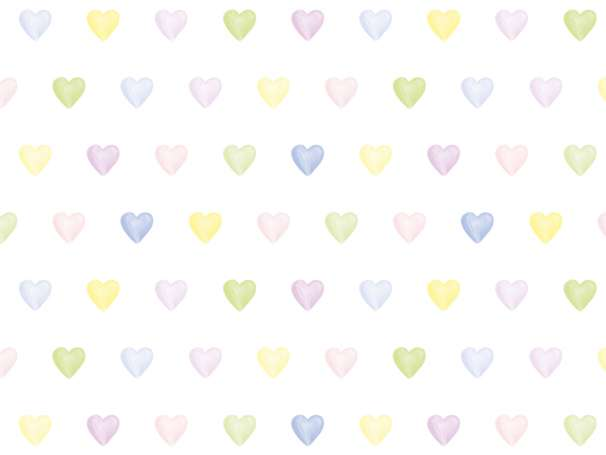 Jersey Stoff - Lovely Hearts - groß