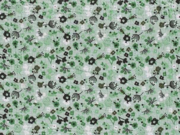 Musselin - Streublumen, mintgrün