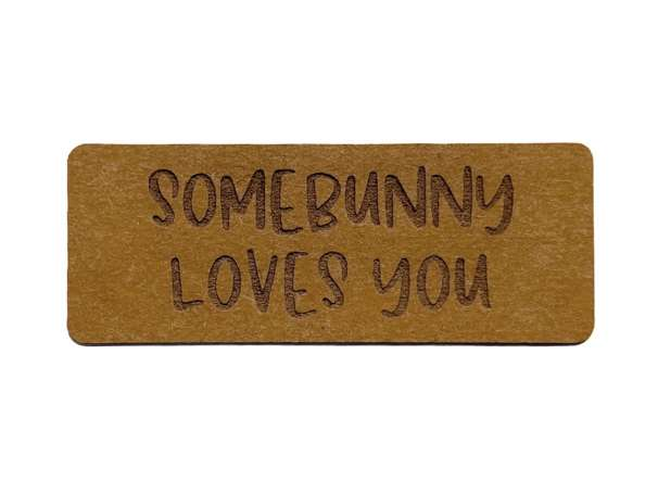 SnaPpap Label - Somebunny loves you