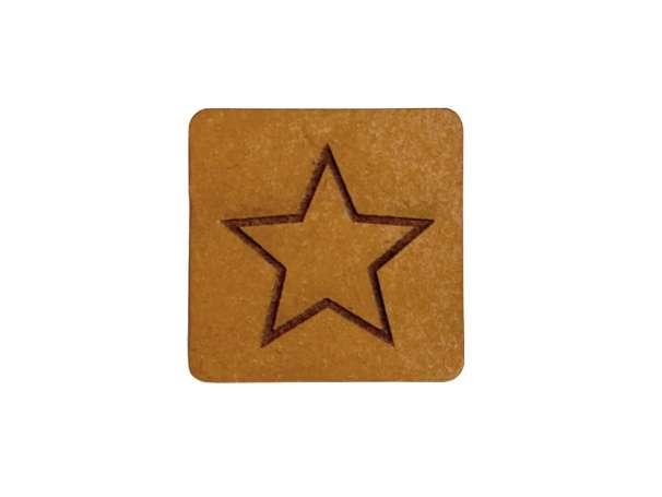 SnaPpap Label - Quadrat - Stern