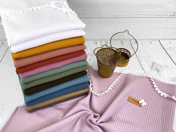 Waffel Jersey - Uni - verschiedene Farben