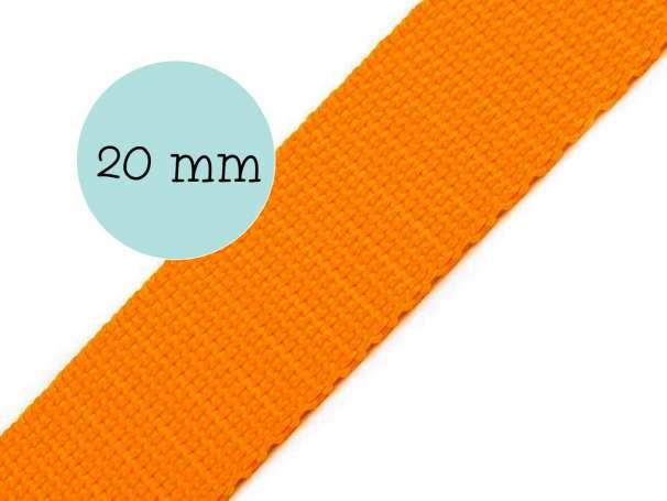 Gurtband - 20mm - orange