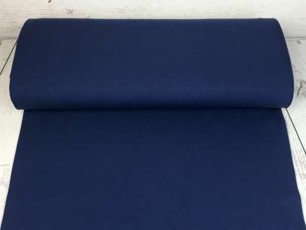 Glattes Bündchen - dunkelblau