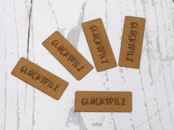 SnaPpap Label - Glückspilz