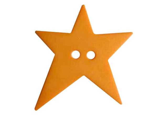Knopf Stern 28mm - orange