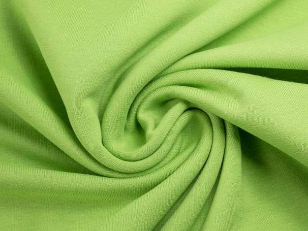 Sweat Stoff - hellgrün