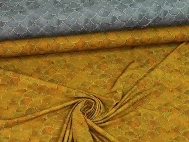 Viskose Jersey Stoff - Bögen, verschiedene Farben