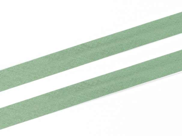 Schrägband Baumwolle - 20 mm - smaragd