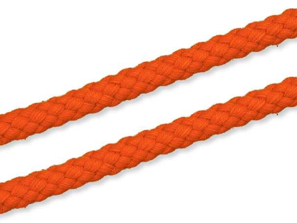 Kordel Baumwolle - 8 mm - orange