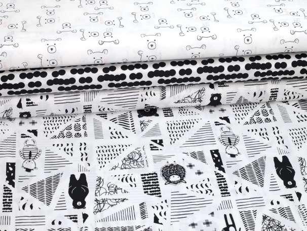 Baumwolle Stoff - Capsules Nest - Serie