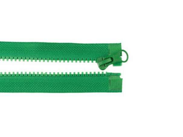 Teilbarer Reißverschluss - 70 cm - grün