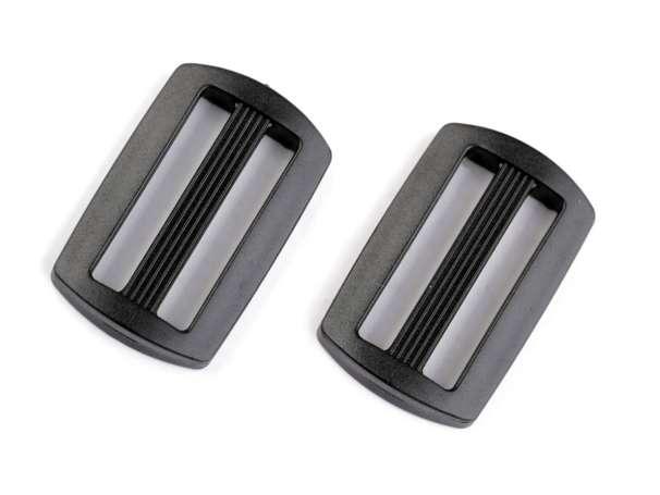 4 Kunststoff Verschieber - 30 mm - schwarz