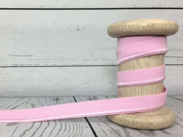 Elastisches Paspelband - rosa