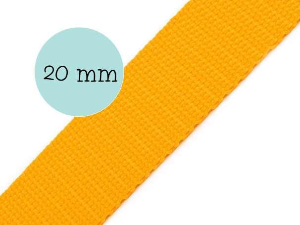 Gurtband - 20mm - butterblume