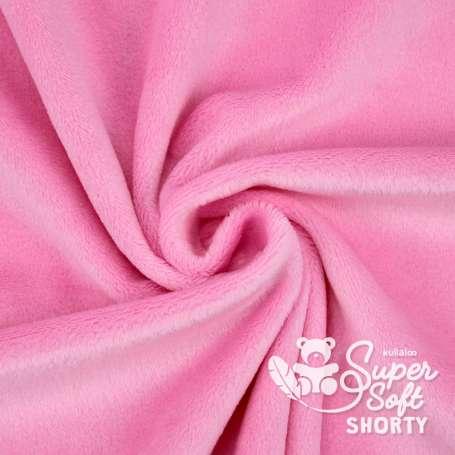 Plüschstoff - SuperSoft SHORTY - rosa
