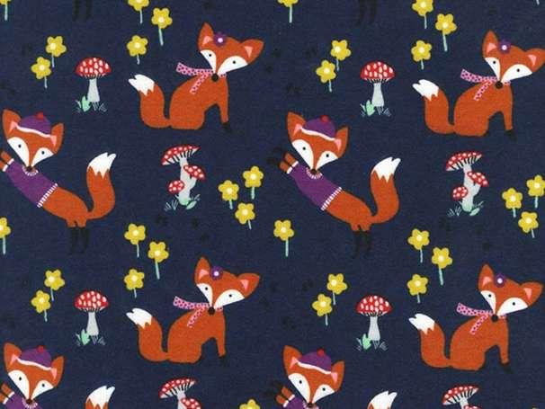 Baumwolle Stoff - Lil' Foxy