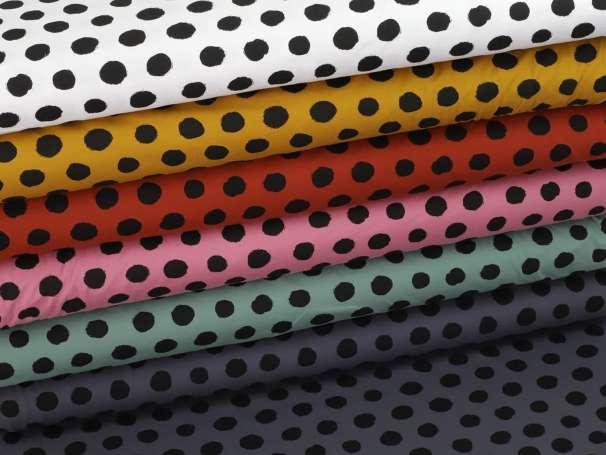 Jersey Stoff - Big Dots - verschiedene Farben