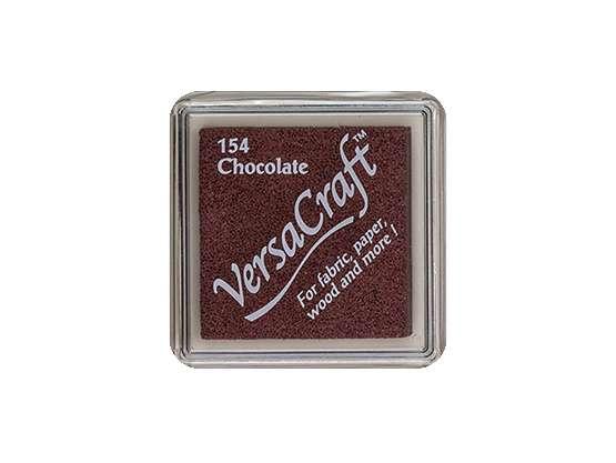 Stempelkissen für Stoff - Versa Craft - 154 Chocolate