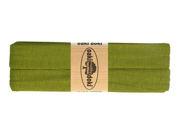 3m Jersey Schrägband - Viskose - 430 khaki