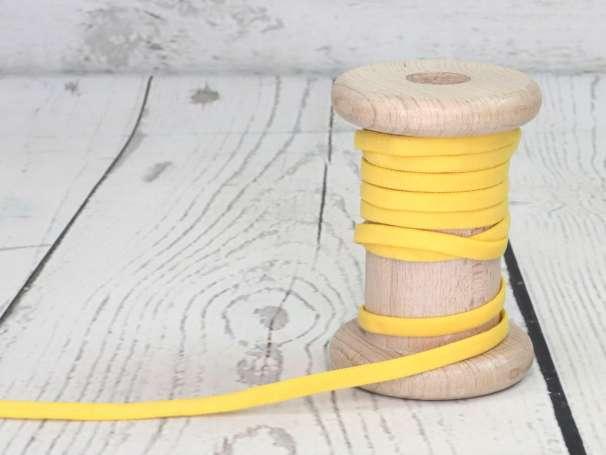 Gummi Band - Rundelastik 5mm - gelb