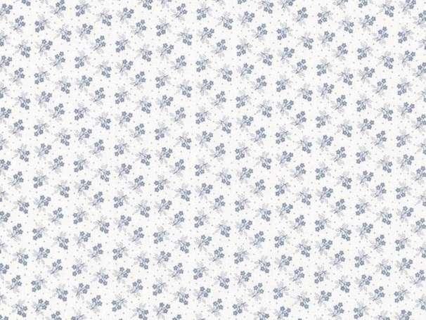 Westfalenstoffe - KYOTO - Blümchen, blau