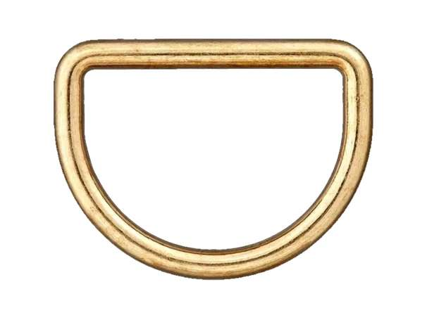 1 D-Ring - 40 mm - gold