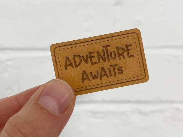 SnaPpap Label - Adventure Awaits