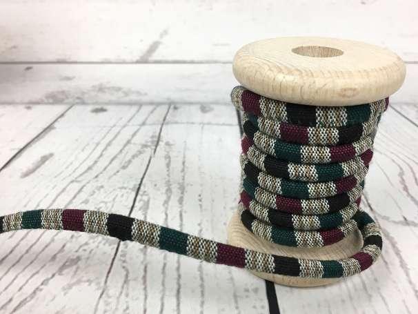 Kordel aztek - magenta grün
