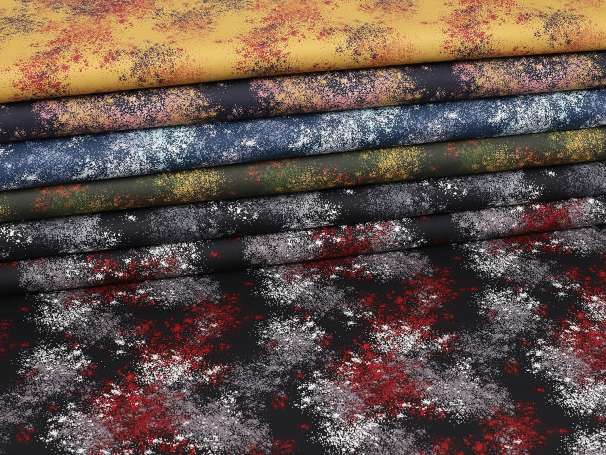 Baumwolle Stoff - Sprenkel - verschiedene Farben
