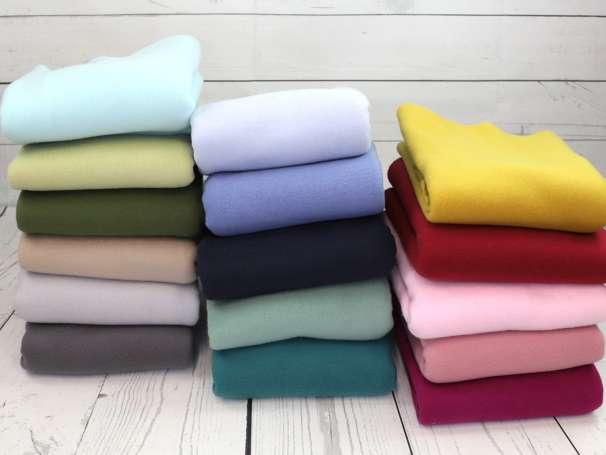 Baumwollfleece - Bene - verschiedene Farben