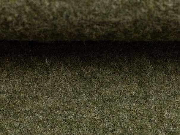 Wollstoff - Walk - khaki melange