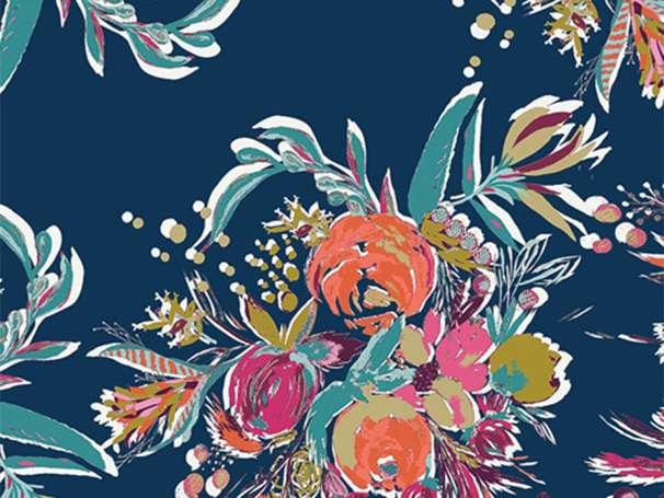 Baumwolle Stoff - Splendid Fusion - Coquet Bouquet