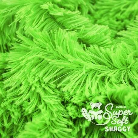 Zottelplüsch - SuperSoft SHAGGY - grün