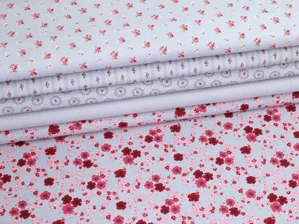 Westfalenstoffe kbA - PRINZESSIN - Blumen, pink