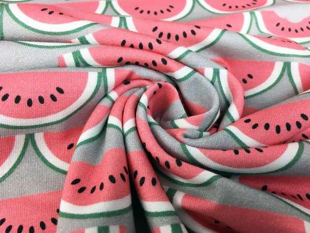 Jersey Stoff - Eigenproduktion - Melon Party
