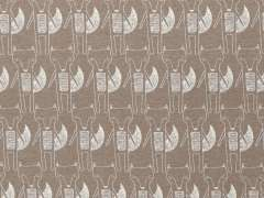 Jersey Stoff Benno - Fuchs - taupe