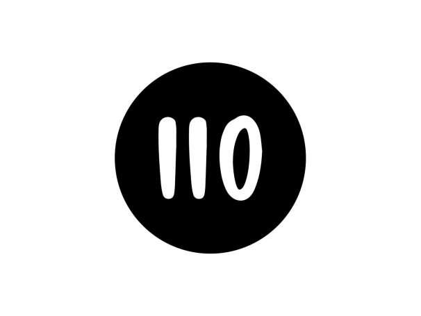 Holzstempel - Größenstempel - 110
