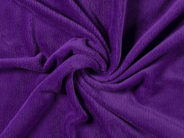 Uni Kuschelfleece - violett