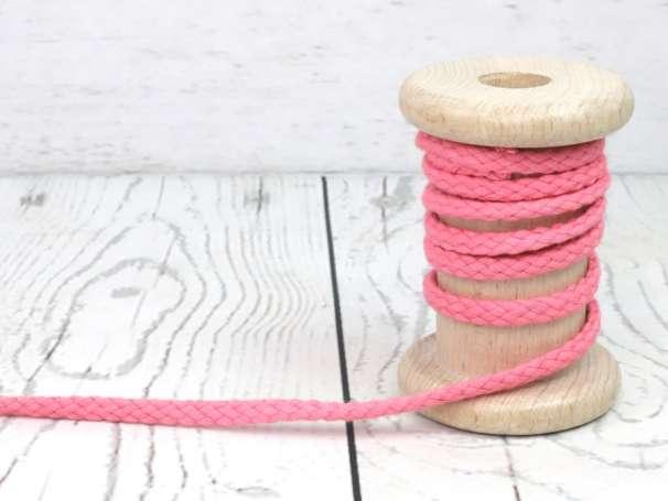 Kordel Baumwolle - 5 mm - rosa