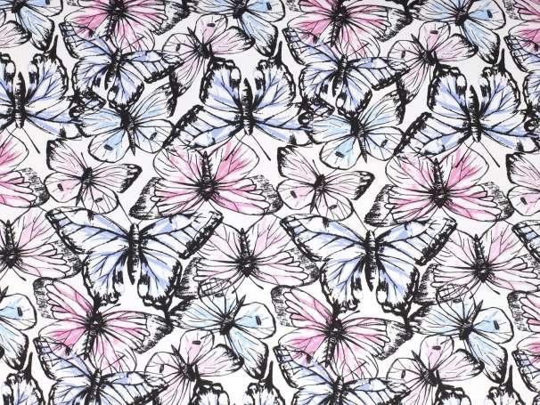 French Terry - Schmetterlinge