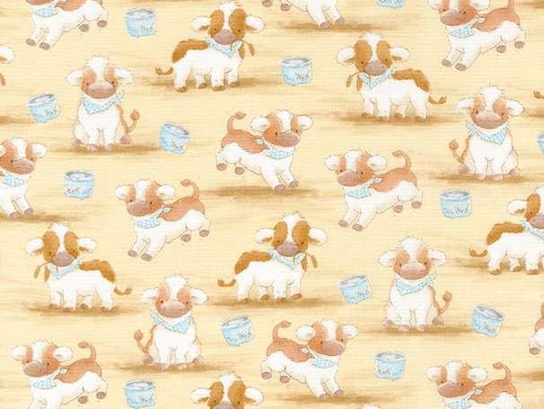 Baumwolle Stoff - Cows