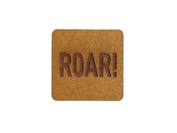 SnaPpap Label - Quadrat - ROAR!