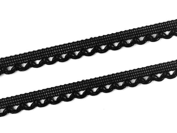 Spitze - 11 mm - schwarz