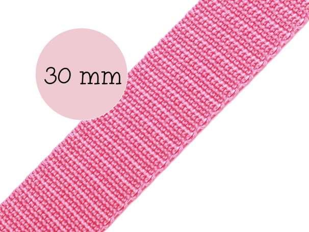 Gurtband - 30mm - rosa