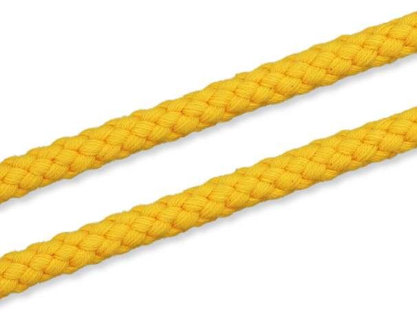 Kordel Baumwolle - 8 mm - gelb
