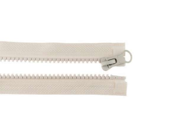 Teilbarer Reißverschluss - 30 cm - beige