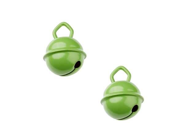 Schnulli-Glöckchen - 2 Stück - apfelgrün