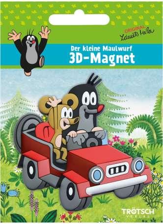 3D-Magnet - Der kleine Maulwurf - Auto