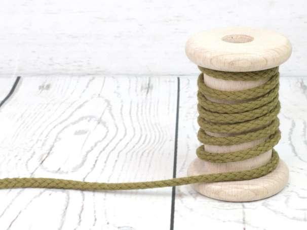 Kordel Baumwolle - 5 mm - schilfgrün